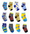 Boys Toddlers Ankle Socks various designs