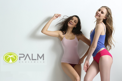 Palm Ladies/Womens Stylish Brushed Side Seam Free Thermal Camisole