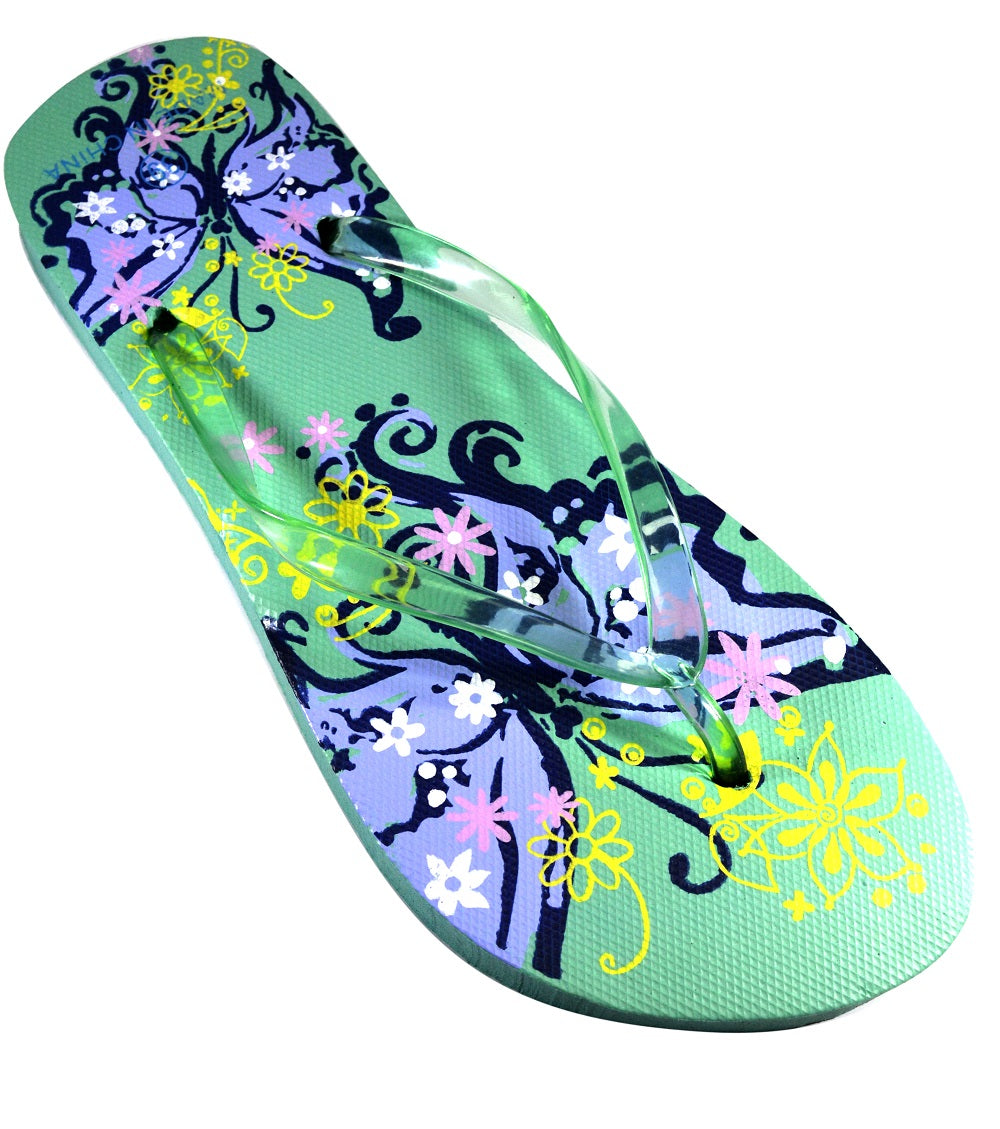 Butterfly Design - Light Green