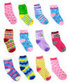 12 Pairs Girls Kids Children Toddlers Ankle Socks