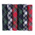 OCTAVE Mens 100% Cotton Tartan Print Handkerchiefs - Gift Boxed 6 Pack