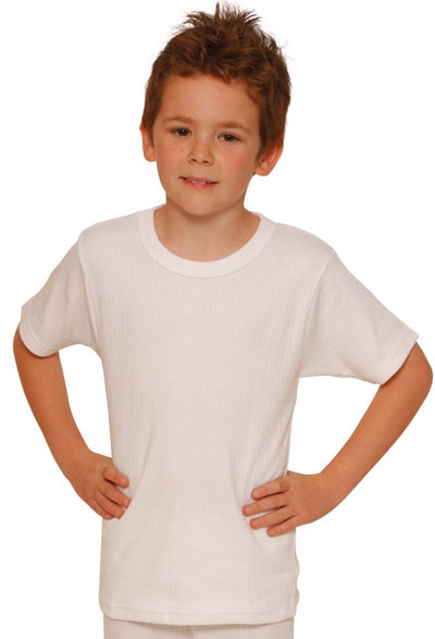 Octave® Boys Thermal Underwear Short-Sleeve Top
