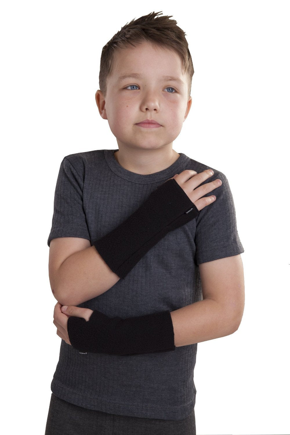OCTAVE Kids Fingerless Gloves : Wrist Warmers Fingerless Gloves