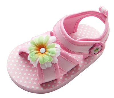 MABINI Baby Girls Summer Eva Sandals Light Pink