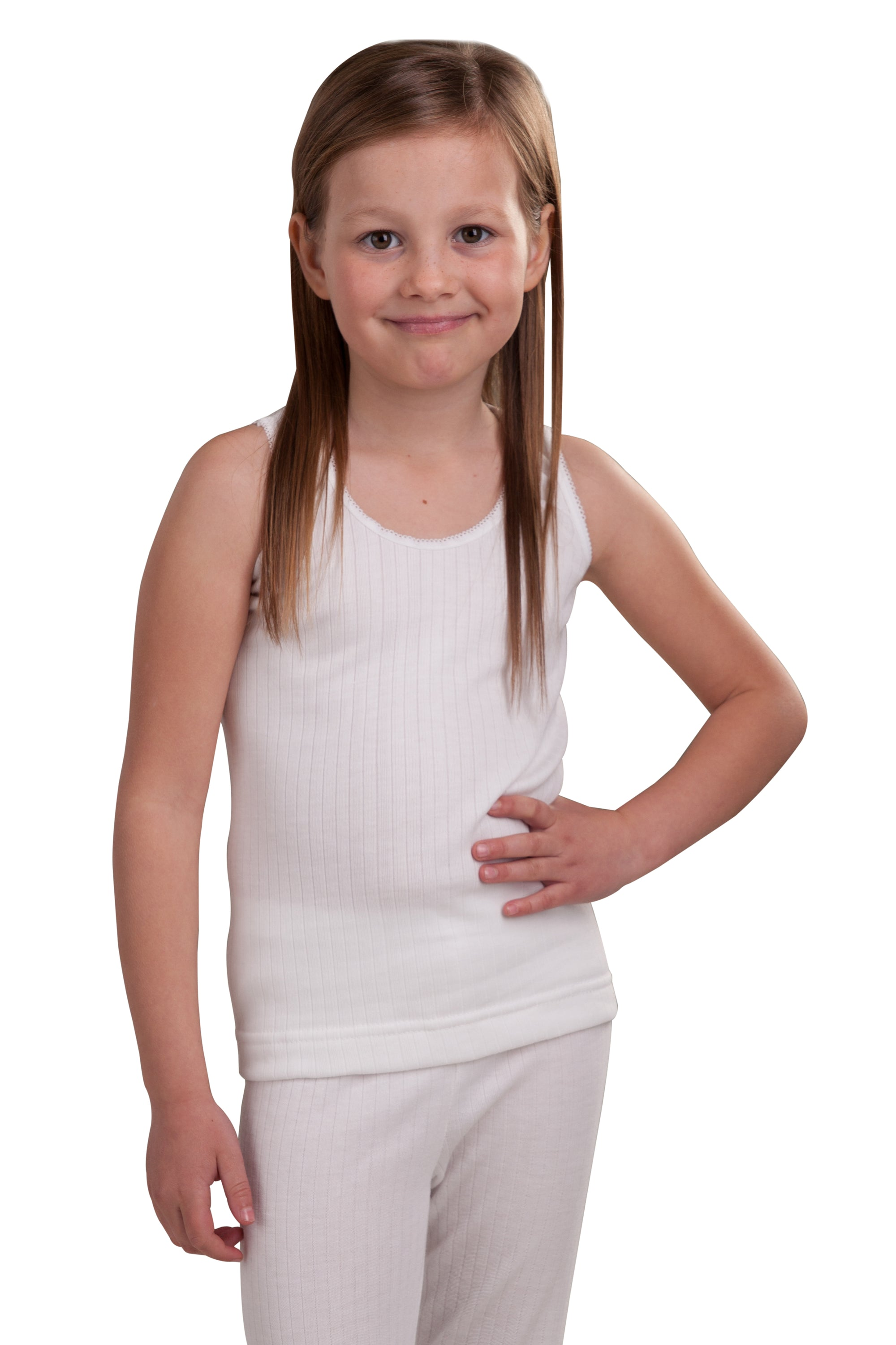 Girls Thermal Sleeveless Vest