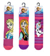 Pack of 3 : Disney Frozen Girls Cotton Rich Socks - Official Disney Merchandise