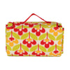 Fleece Picnic Rug Great Outdoor Folding Blanket Flower