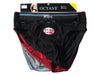 Octave® 3 Pack Mens Cotton / Elastane Briefs (Ex-Large, Assorted Colours)