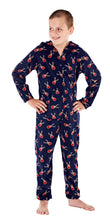 Load image into Gallery viewer, OCTAVE Boys Novelty Christmas Warm Hooded Onesie All In One