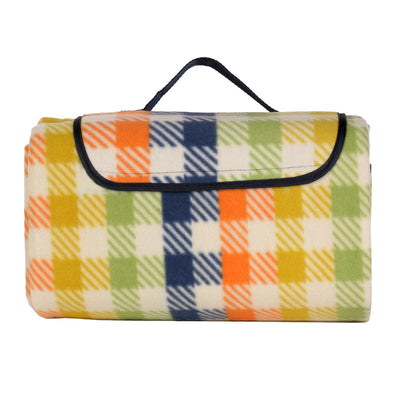 Fleece Picnic Rug Blanket