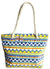 Beach Tote Handbags Chevron Design