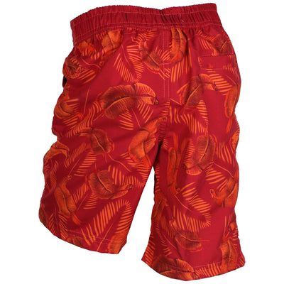 Safari Swim Shorts Red