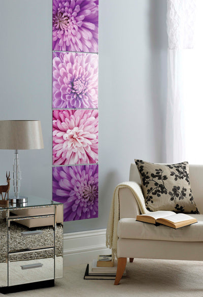 Decorative Printed Wall Art Crysanther