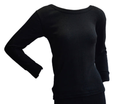 6 Pack Womens Wind Trap Thermal Underwear Long Sleeve T-Shirt/Vest/Top