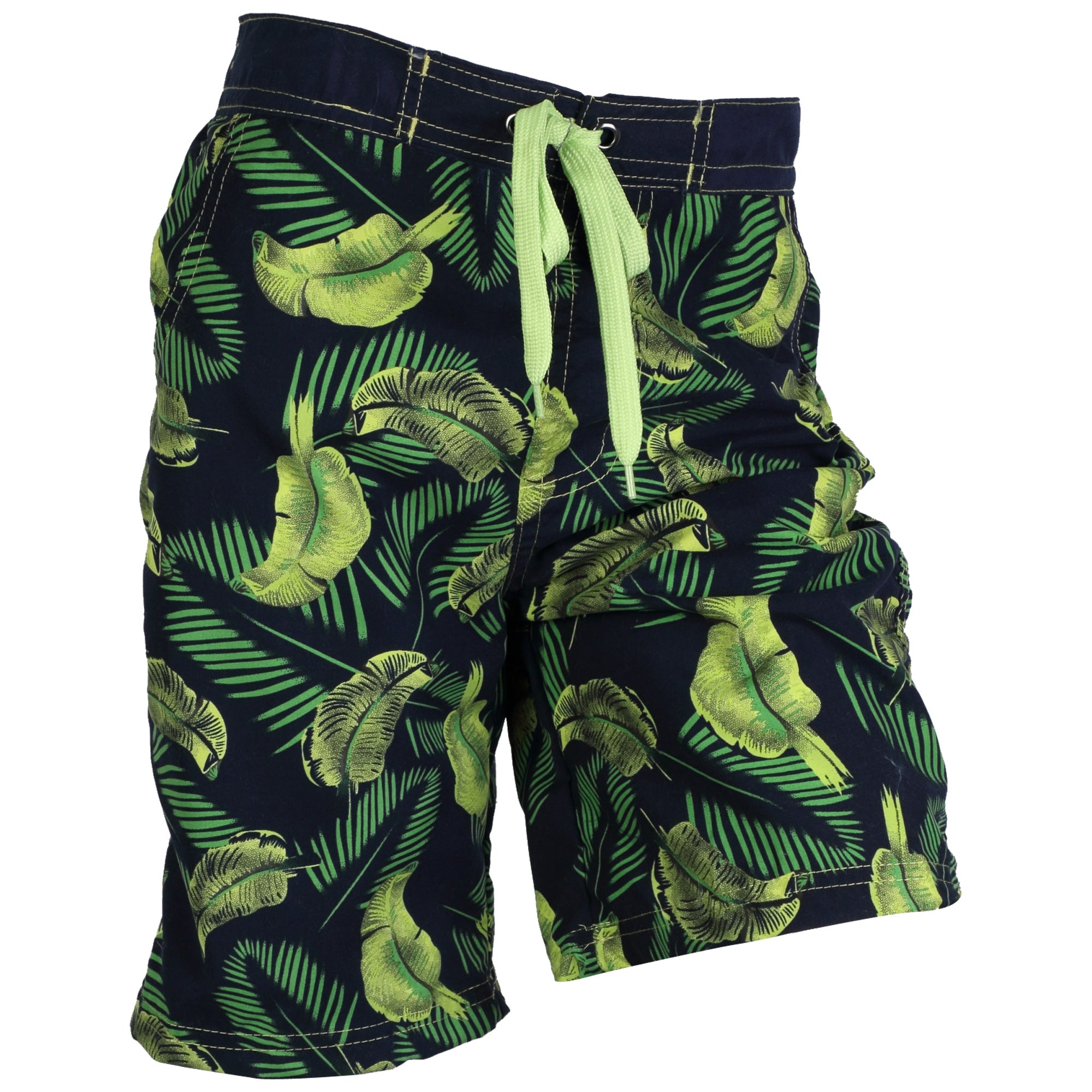 Safari Beach Board Swim Shorts Navy