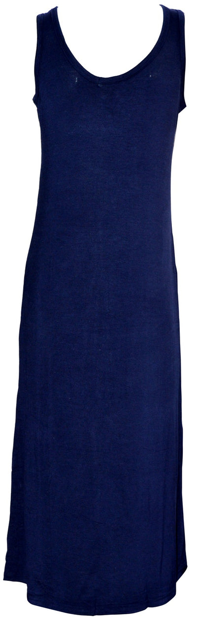 Max dress navy front