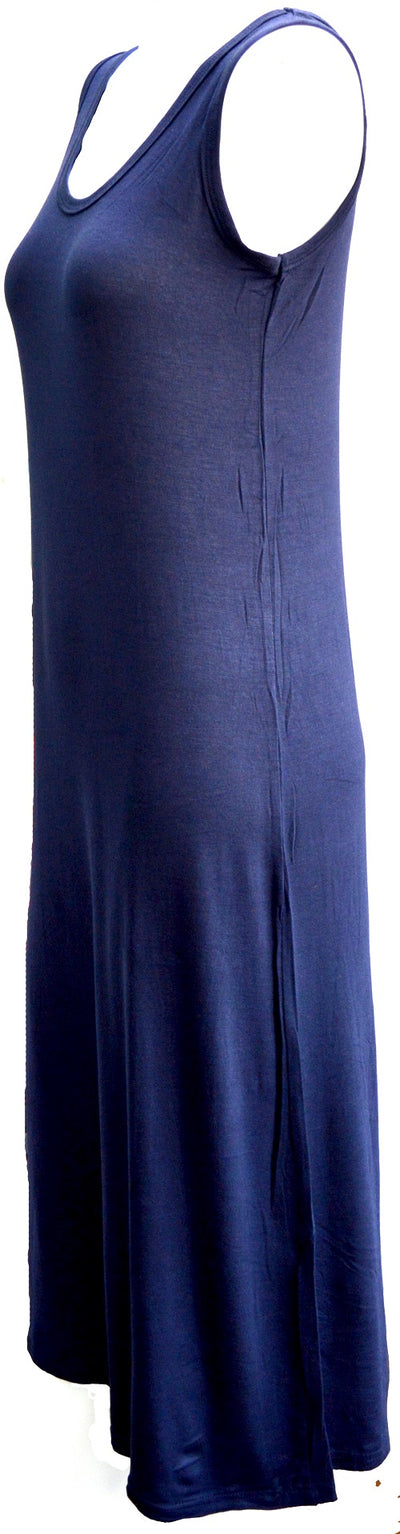 Max dress navy side