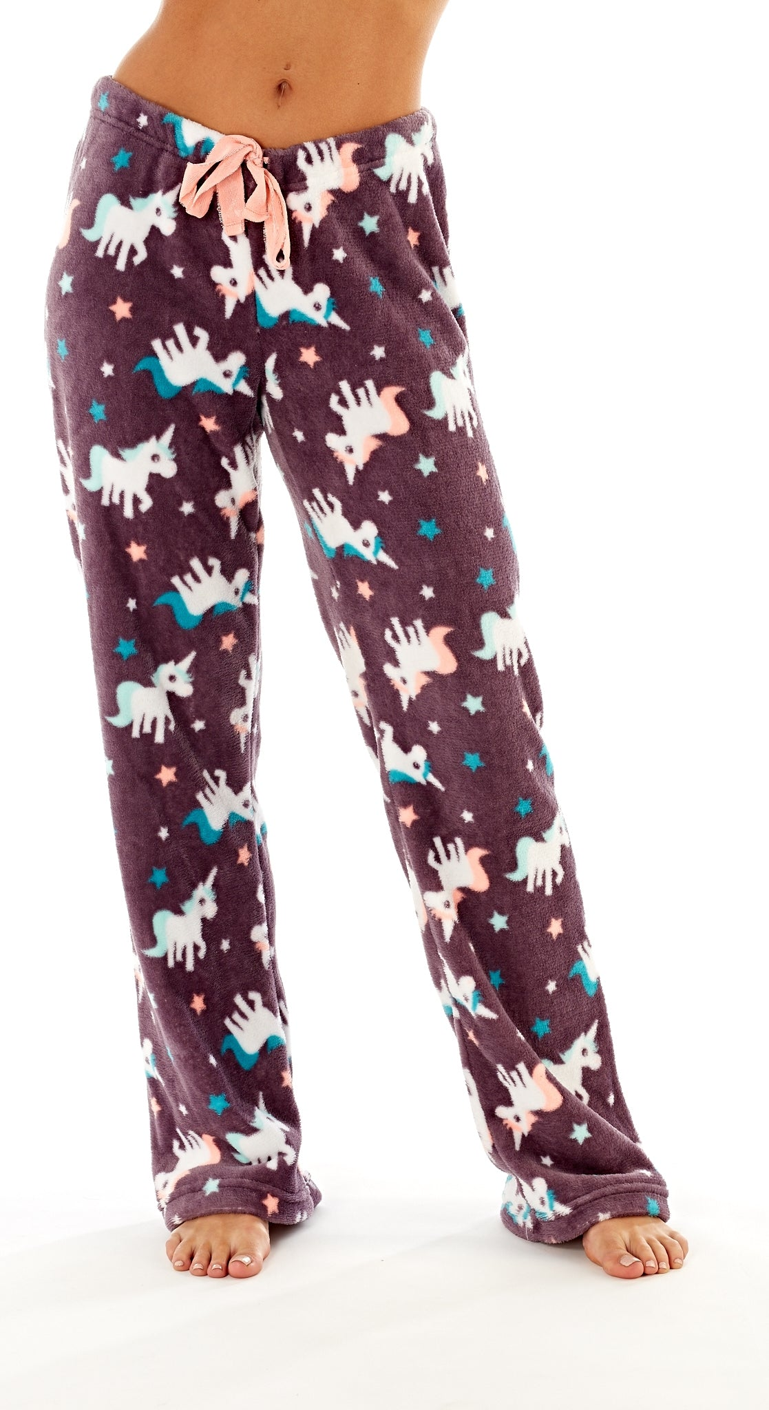 Octave Ladies Loungewear Pants Pyjama Bottoms - Unicorn