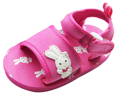 MABINI Baby Girls Bunny Rabbit Sandals Pink
