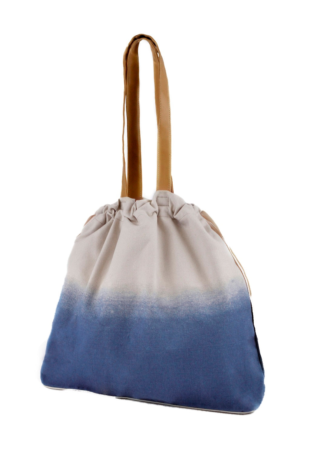 Ladies blue beach bag