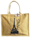 Paris designed tote handbag