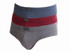 OCTAVE Pack of 3 Mens Designer Luxury Cotton / Elastane Blended Fabric Briefs - For Supreme Comfort