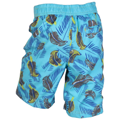 Safari Beach Board Swim Shorts with pockets