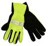 OCTAVE Mens Hi Vis Fleece Gripper Gloves