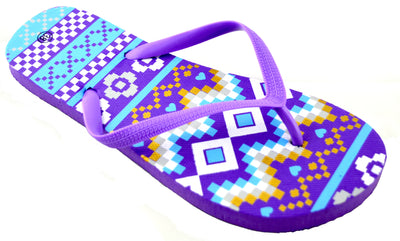 Aztec Waves Design - Purple