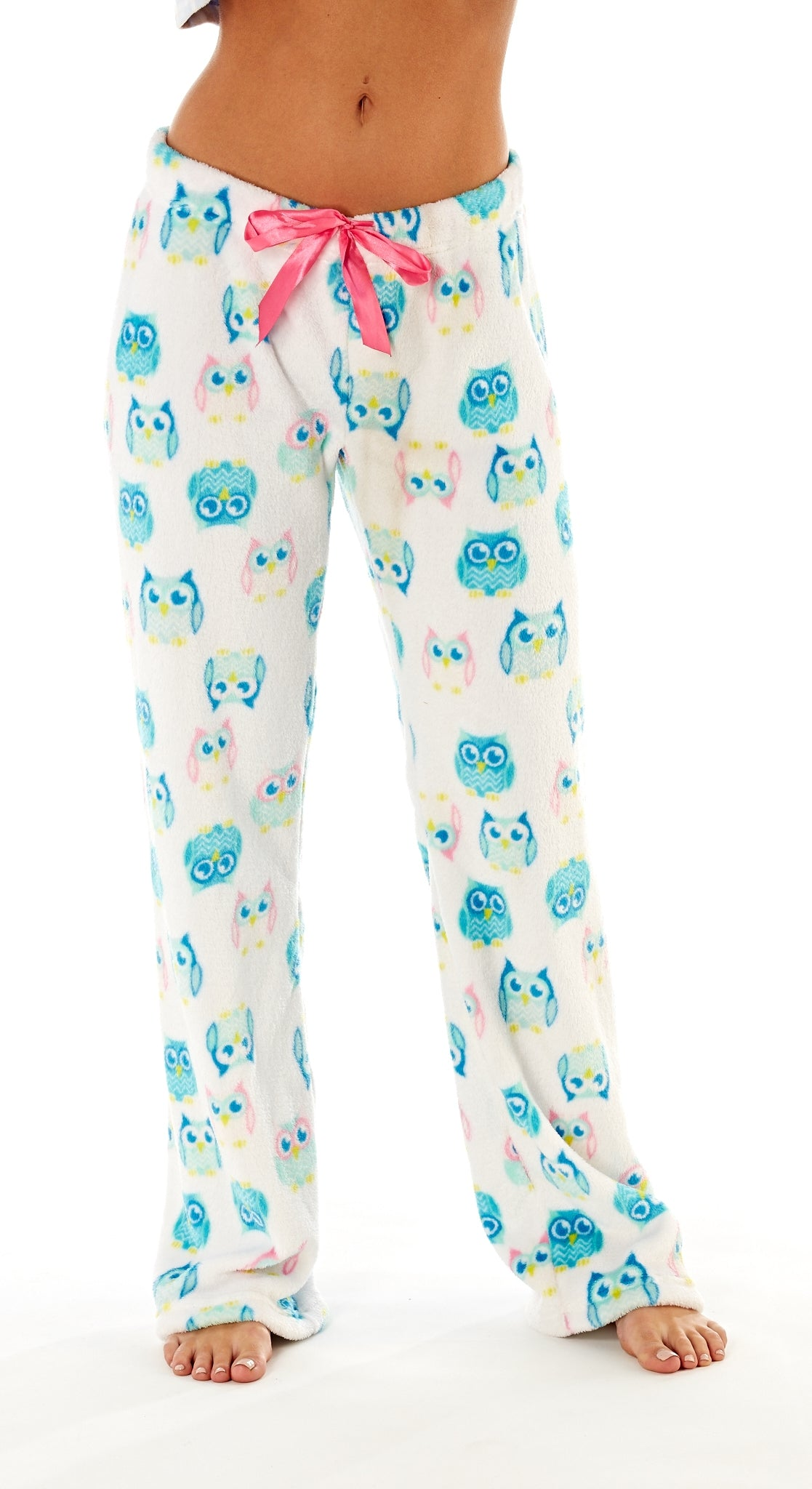 Octave Ladies Loungewear Pants Pyjama Bottoms - Owl