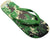 OCTAVE Mens Green Camoflague Design Flip Flops