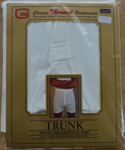 Thermal Underwear Trunks white pack