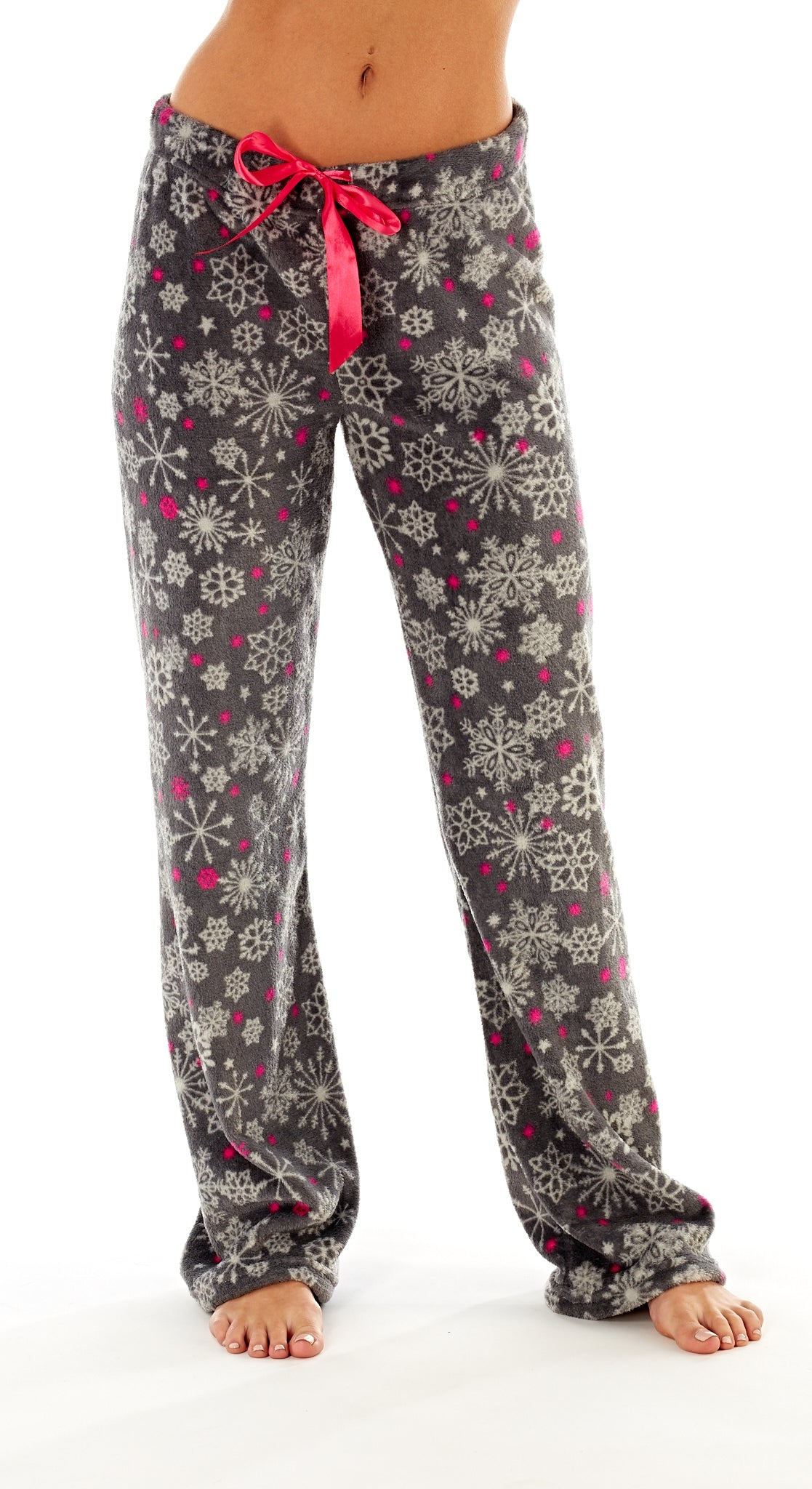 Octave Ladies Loungewear Pants Pyjama Bottoms - Snowflake