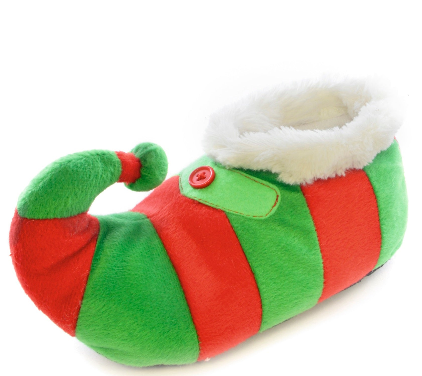 OCTAVE Girls Boys Kids Unisex Novelty Christmas Elf Slippers