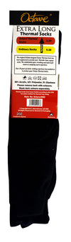 OCTAVE Mens Extra Long Thermal Socks - 1.2 TOG - Pack of 3