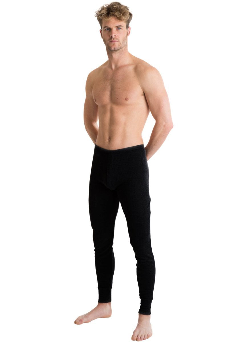 OCTAVE Mens Thermal Underwear Long John (British Made Viscose Extra Warm Range)