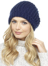 Dark Blue Ladies Knitted Hat