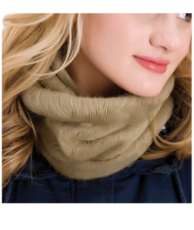 Khaki neck warmer