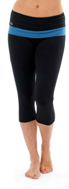 Ladies Fitness Cropped 3/4 Capri Yoga Pants