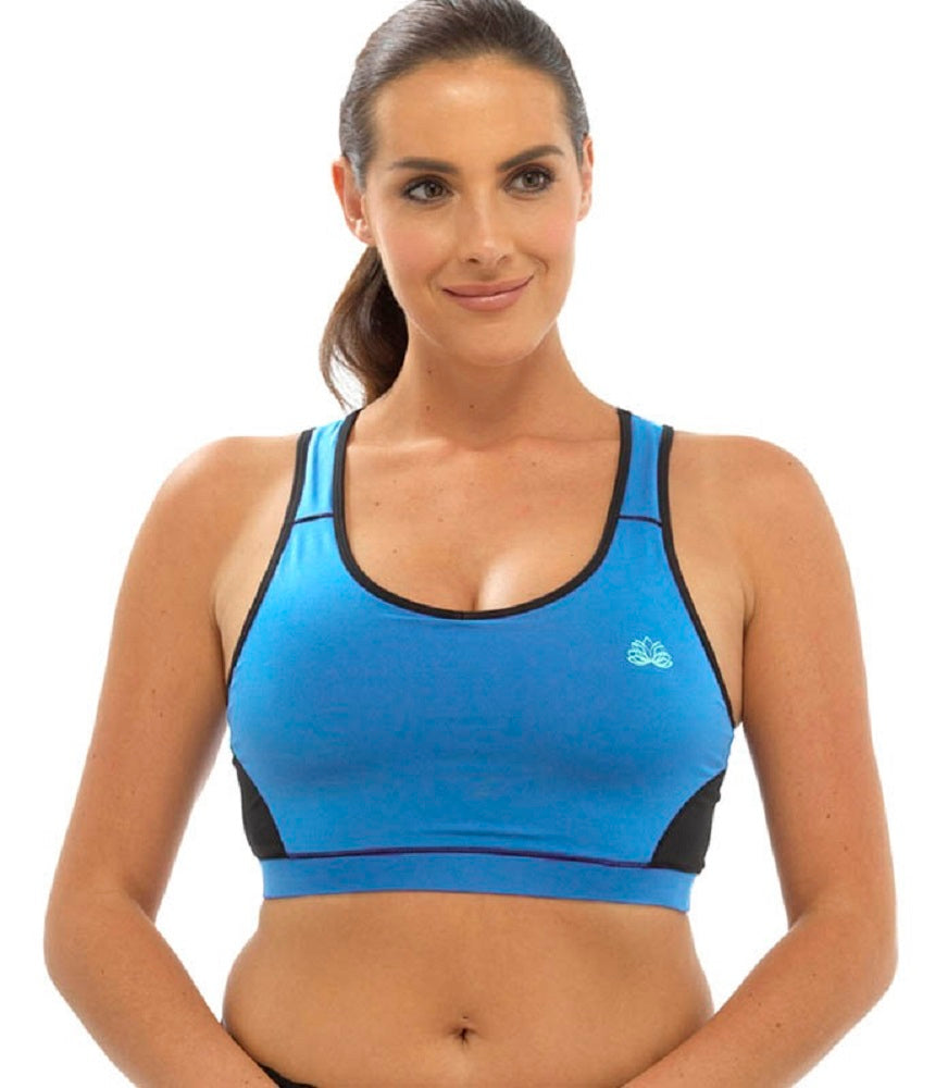 OCTAVE Ladies Sport Fitness Crop Top Set - Perfect For Yoga / Gym / Workouts