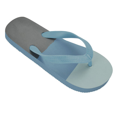 Boys Stripped Flip Flops Blue