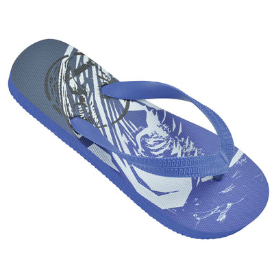 Boys surfing flip flops blue