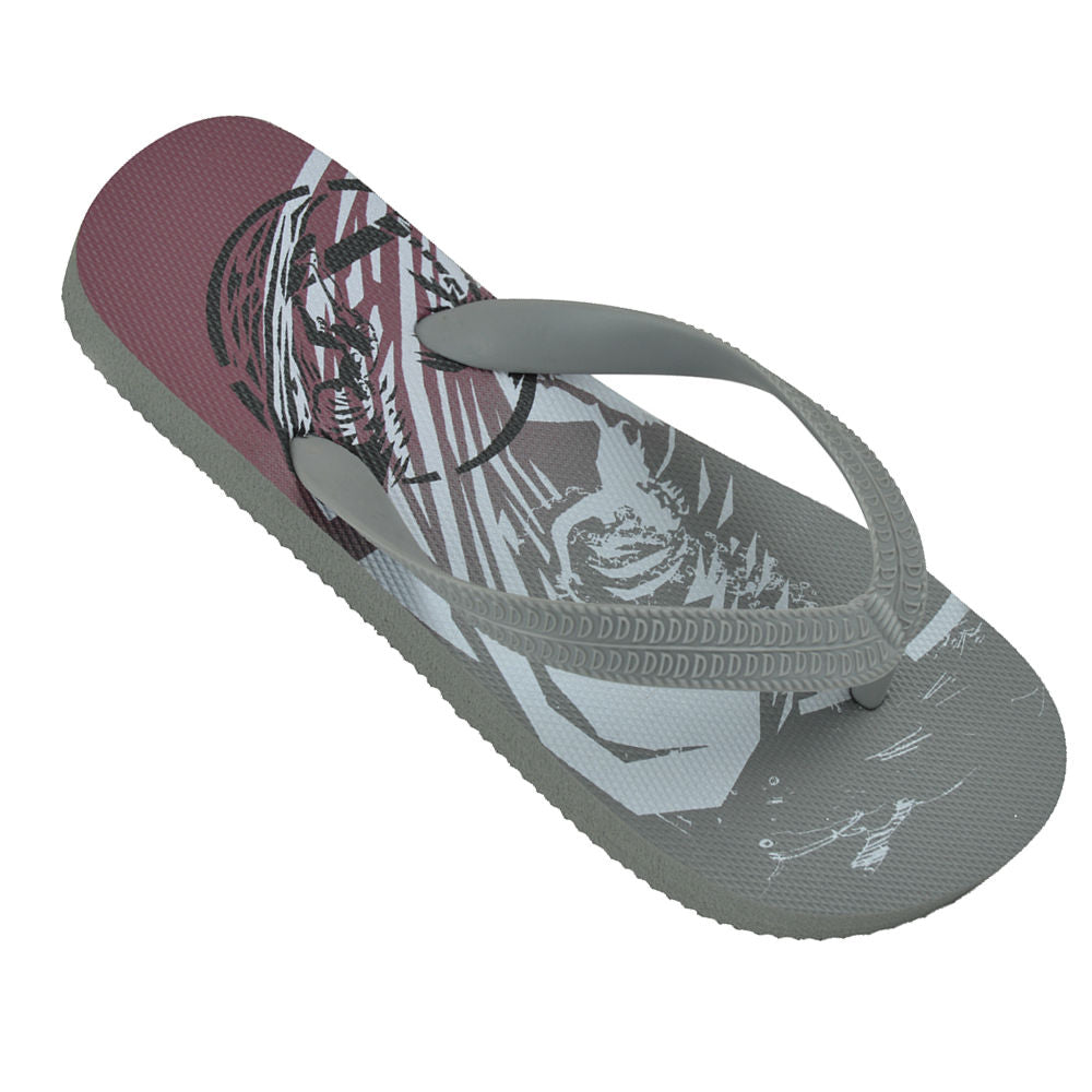 OCTAVE Boys Summer Beach Wear Flip Flops - Surfing Design