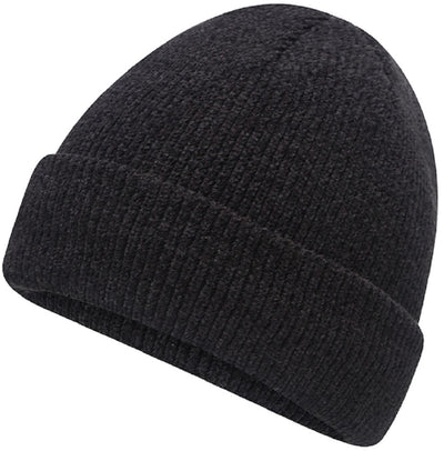 Octave® Ladies Chenille Thermal Hat - Black