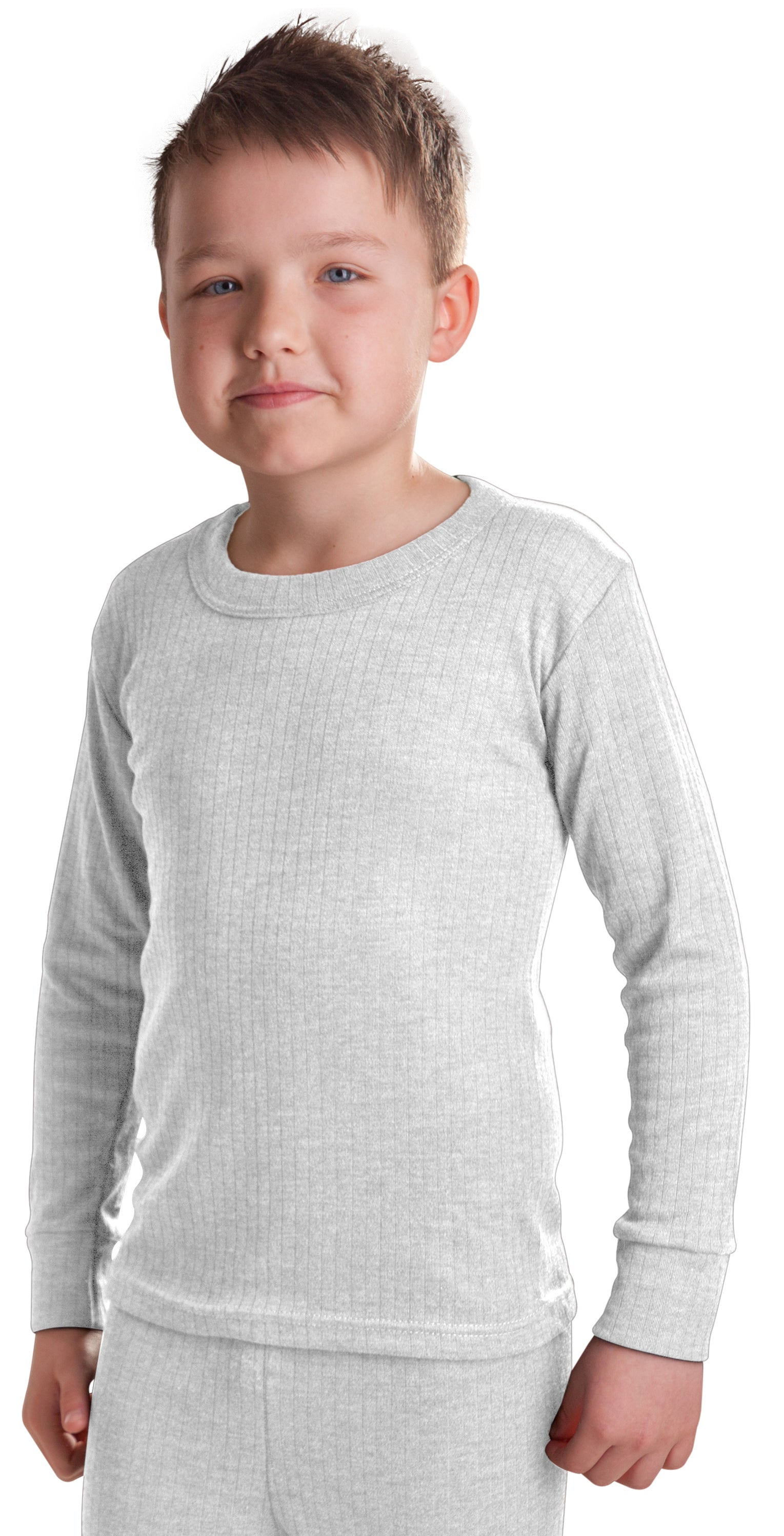 Extra Warm British Made RP Collections® Boys Thermal Underwear Long-Sleeve Top