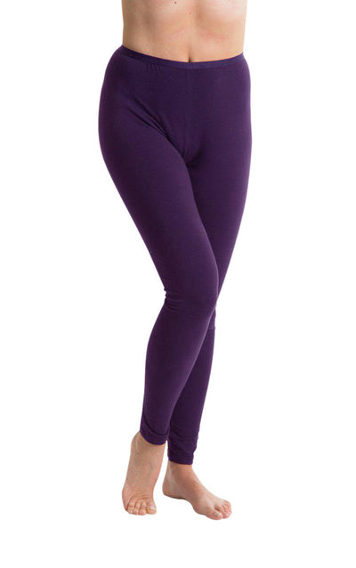 Passionelle® Ladies Full Length Luxury Leggings - Cotton with Elastane / Spandex