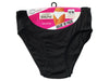 Pack of 10 : Passionelle® Womens Designer Black Colour Bikini Briefs