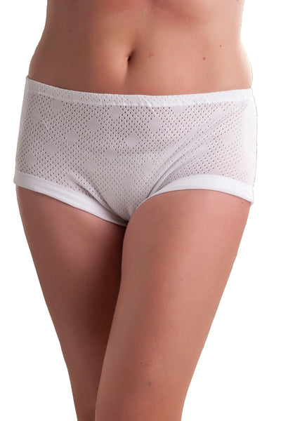 womens mama briefs white