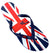 OCTAVE Mens Flip Flops - Union Jack Abstract Design
