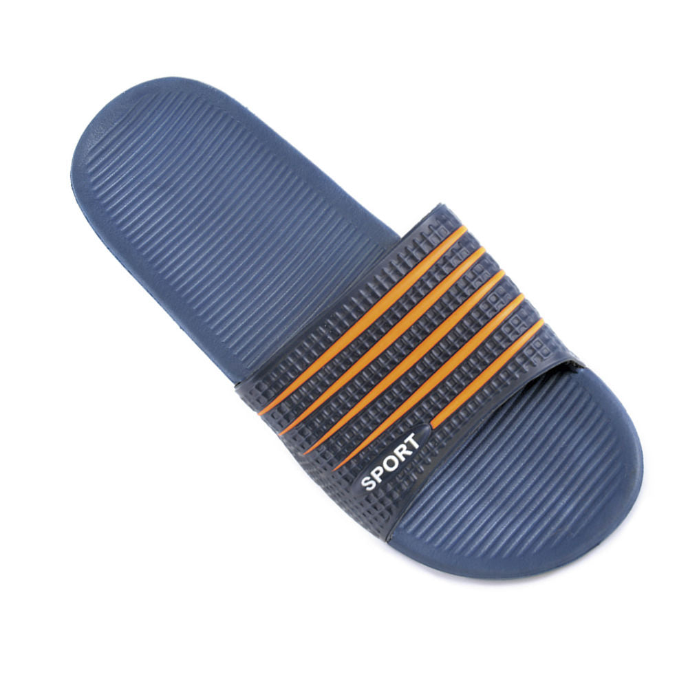 OCTAVE Mens Sliders - Two Tone Sport Logo Design